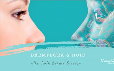 De connectie tussen darmflora en de huid